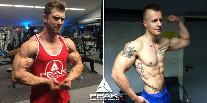 Alexis Saveri et Alexandre Muller - peak workout