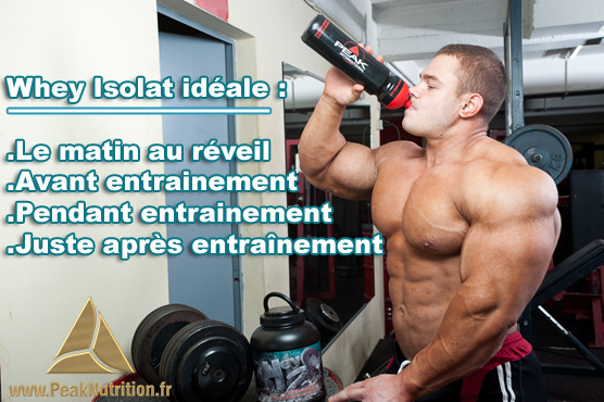 comment prendre 100 whey protein